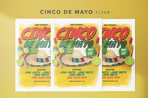 Cinco de Mayo Flyer PSD