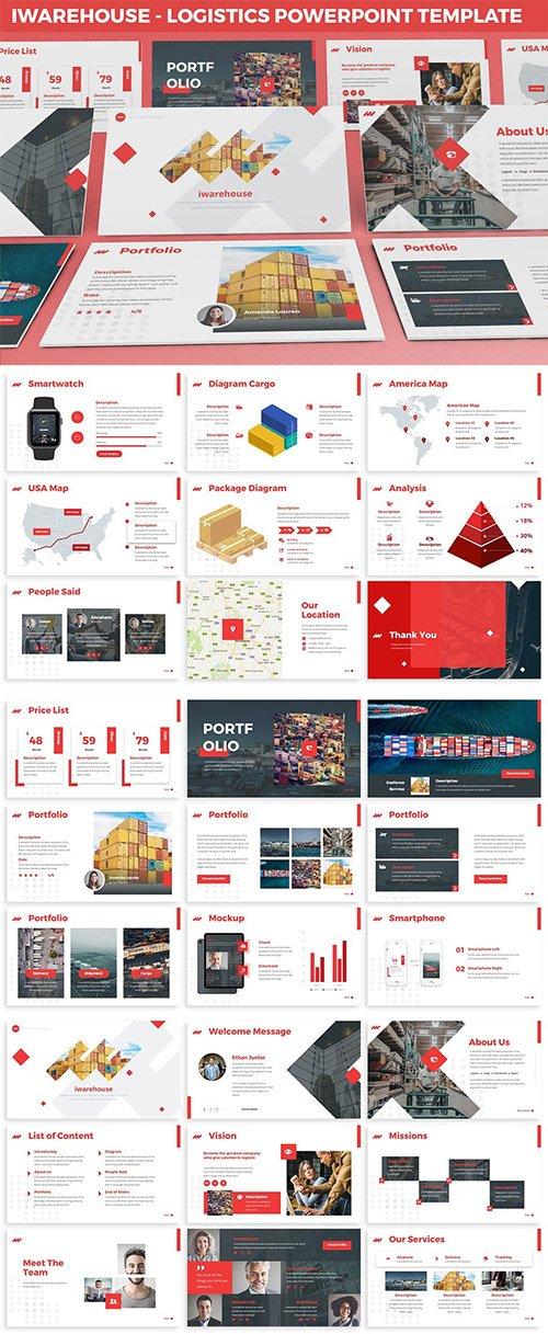 iWarehouse - Logistics Powerpoint Template