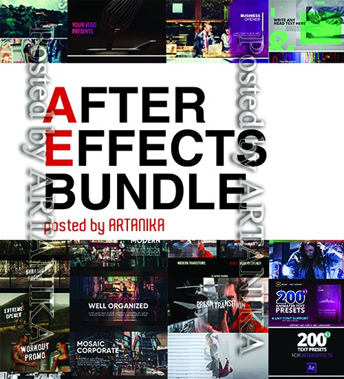 МА - After Effects Bundle January 2019 Part 3