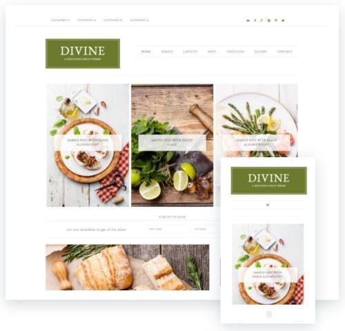 StudioPress - Divine Pro v1.1.0 - Genesis Framework Theme
