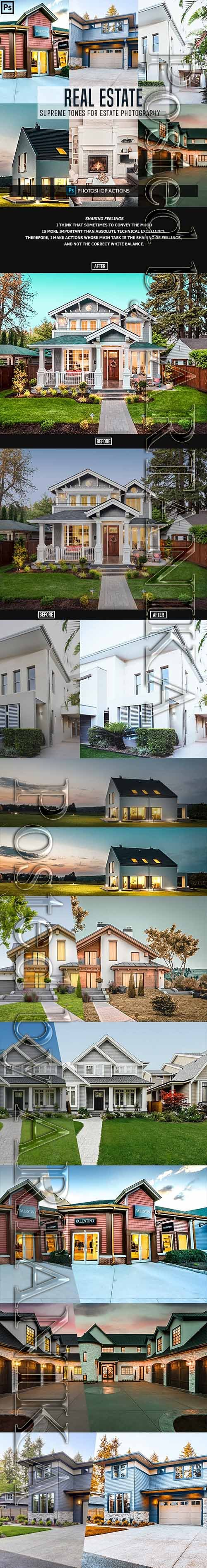 GraphicRiver - Real Estate Photoshop Actions 23152813
