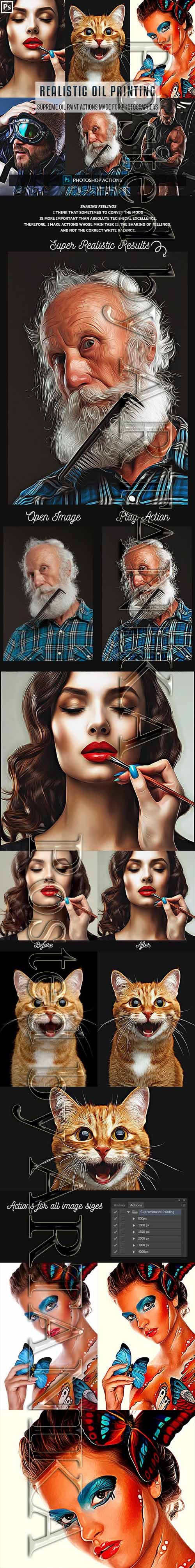 GraphicRiver - Realistic Painting Pro Actions 23154806