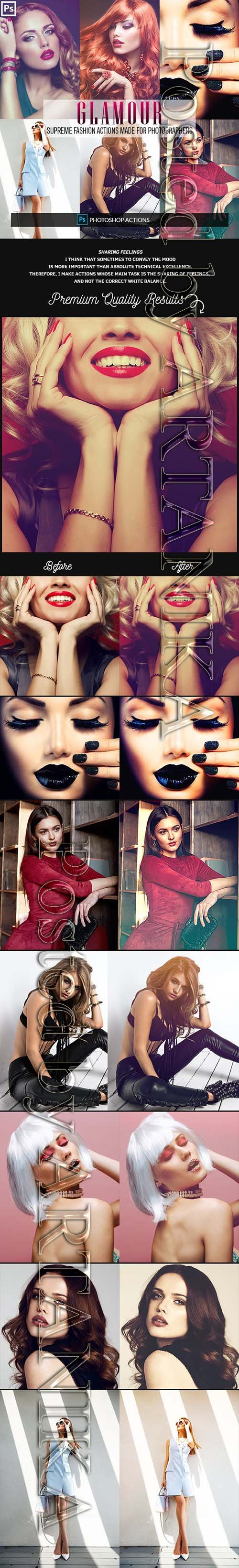 GraphicRiver - Glamour Fashion Photoshop Actions 23156099