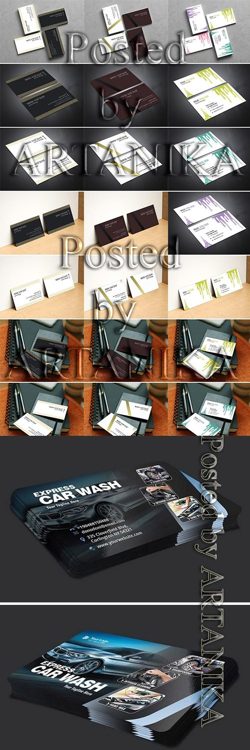 Business Card Set vol.3