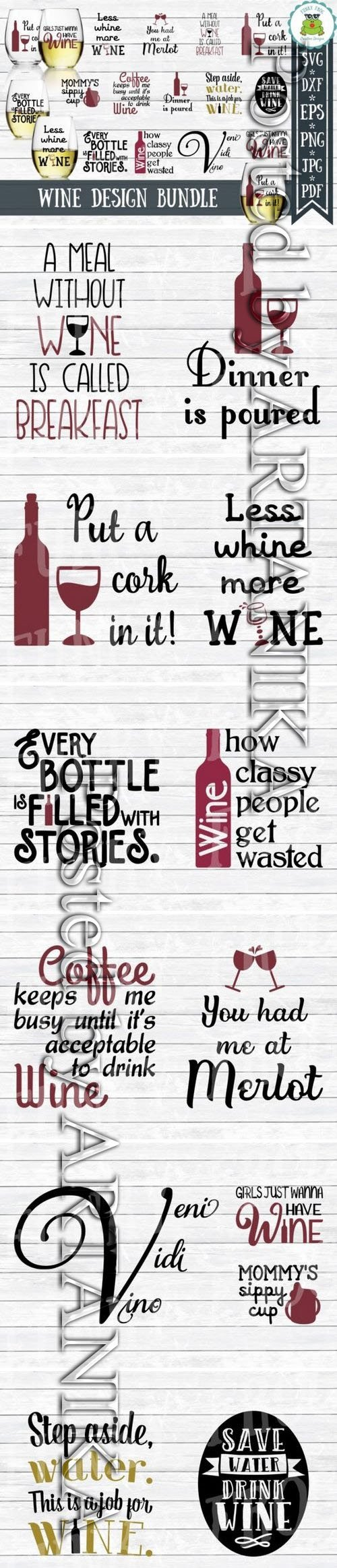 Wine Quotes Bundle