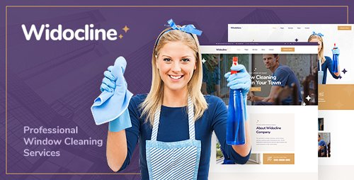 ThemeForest - Widocline v1.0 - Professional Window Cleaning Services PSD Template - 22818789
