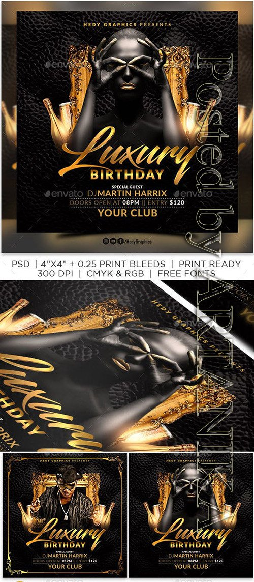 GraphicRiver - Birthday Bash Flyer 23256314