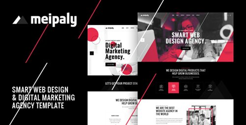 ThemeForest - Meipaly v1.0 - Digital Services Agency PSD Template - 22910047
