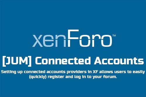 [JUM] Connected Account v2.1.0 - XenForo Add-On