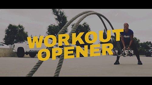 MA - Workout Opener 75109