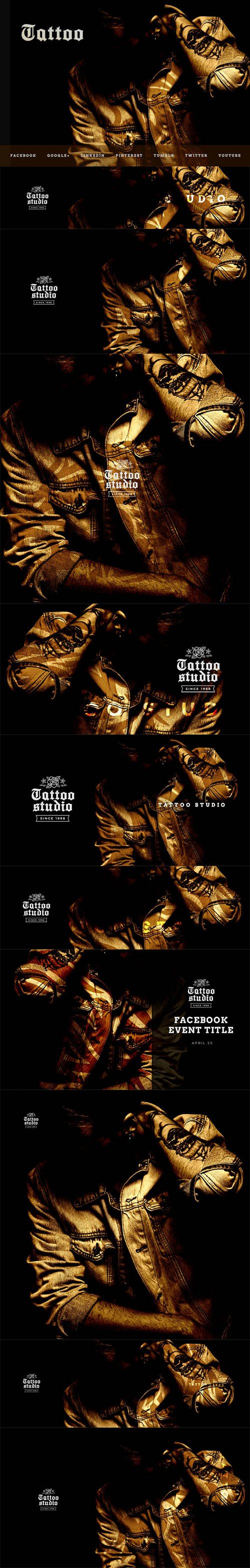 Tattoo Studio - Social Media Kit