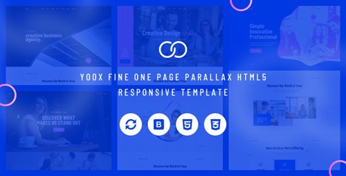 ThemeForest - Yoox v1.0 - Fine One Page Parallax HTML5 Responsive Template - 22988762
