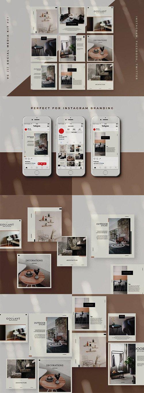 Architectural & Interior Social Media Kit
