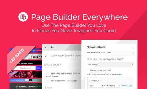 Page Builder Everywhere v3.1.1 - Divi Space