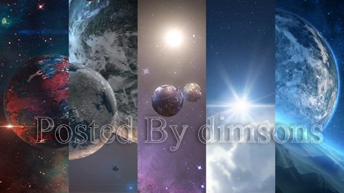 Space Planets Pack 1 22105715