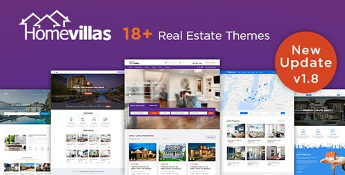 ThemeForest - Home Villas v1.8 - Real Estate WordPress Theme - 19446059 - NULLED