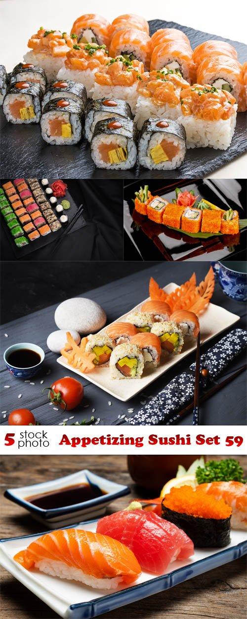 Photos - Appetizing Sushi Set 59