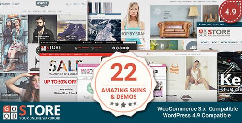 ThemeForest - GoodStore v4.9 - WooCommerce Theme - 7314327