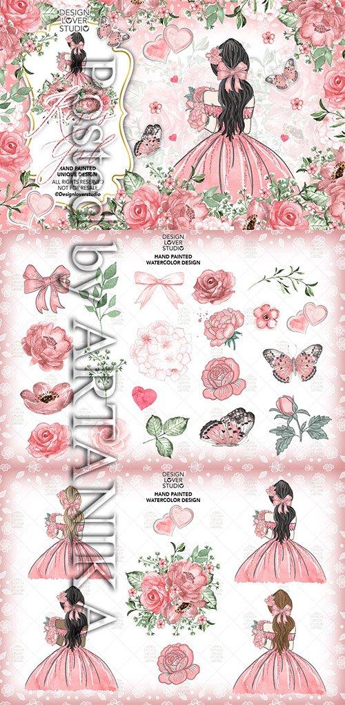 Roses Girl design