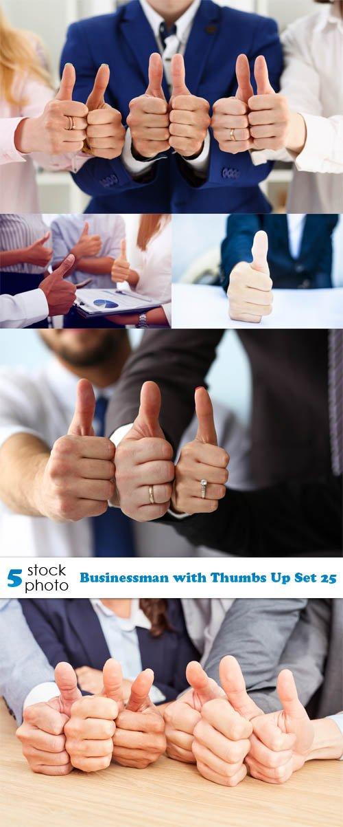 Photos - Businessman with Thumbs Up Set 25