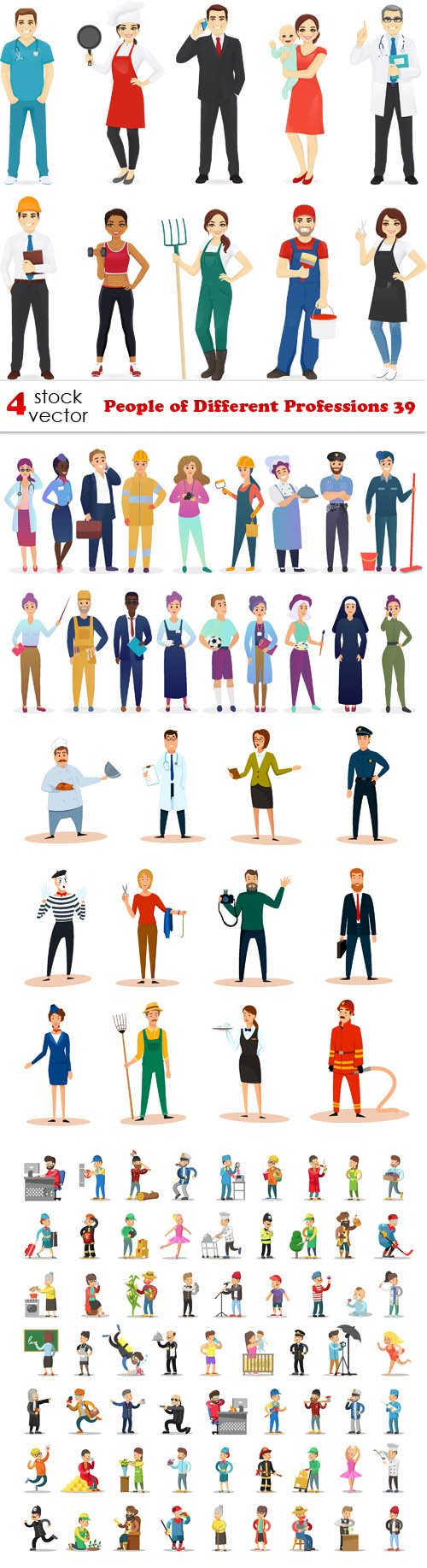 Vectors - People of Different Professions 39