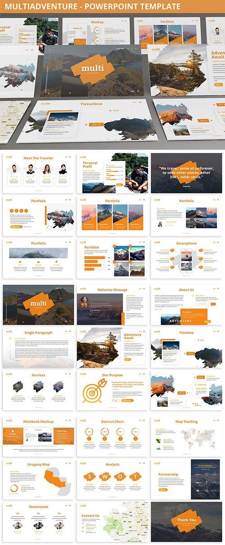 MultiAdventure - Powerpoint Template