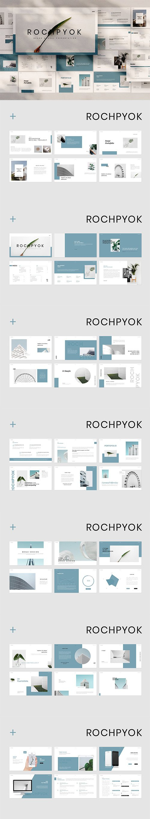 Rochpyok Powerpoint, Keynote and Google Slides Templates