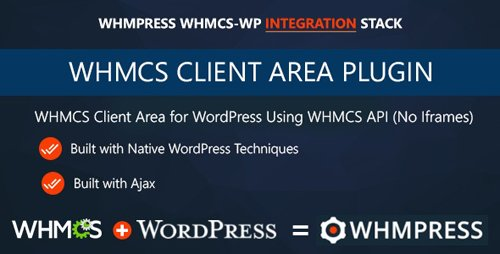 CodeCanyon - WHMCS Client Area for WordPress by WHMpress v3.0 - 11218646 - NULLED
