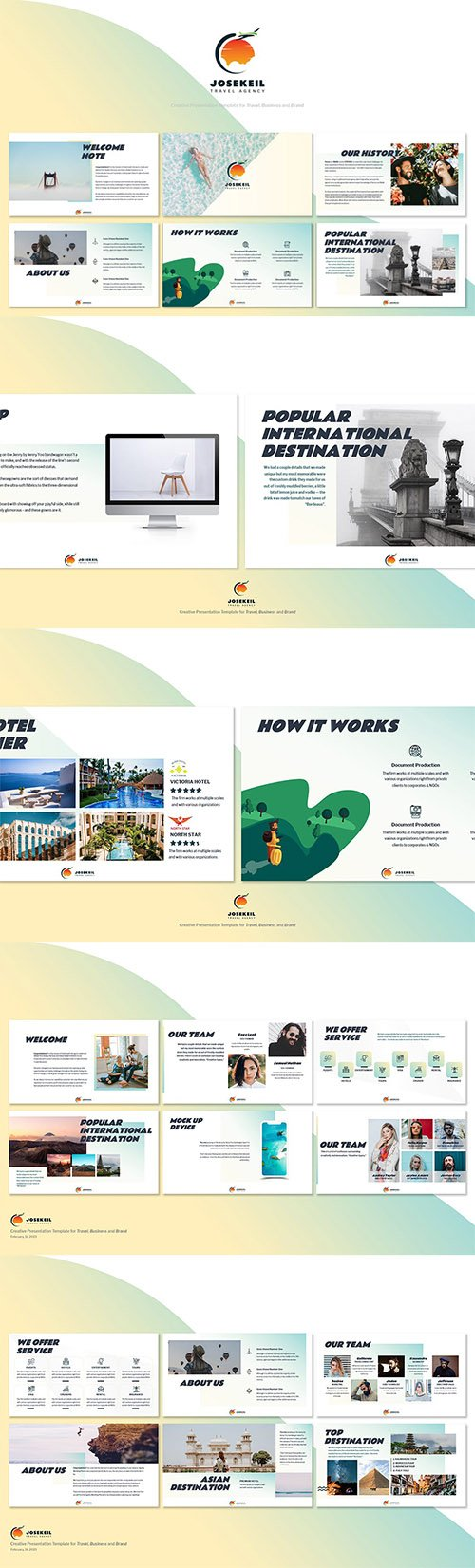 Josekeil - Travel Agency Powerpoint Template