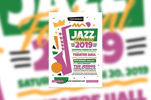 Jazz Festival PSD