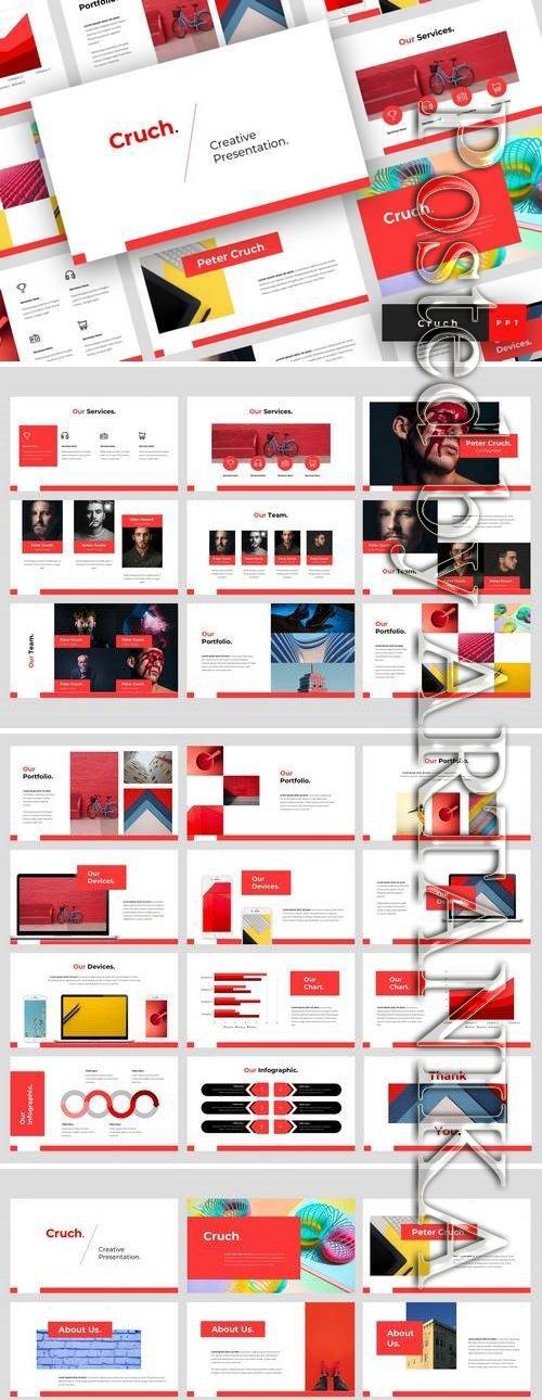 Cruch - Powerpoint, Keynote, Google Sliders Templates