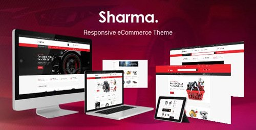 ThemeForest - Sharma v1.0 - Accessories Car OpenCart Theme (Included Color Swatches) - 23241630