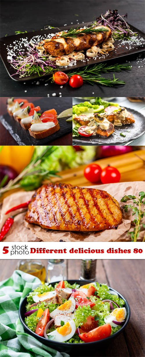 Photos - Different delicious dishes 80