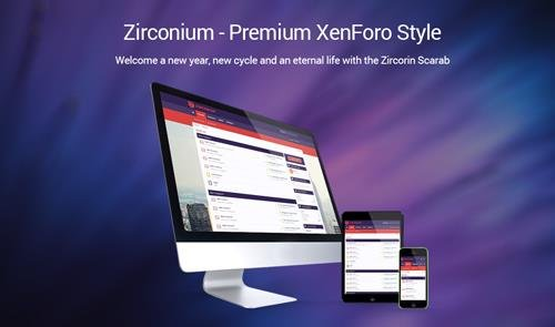 Brivium - Zirconium v2.0.10 - XenForo 2 Style