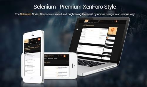 Brivium - Selenium v2.0.10 - XenForo 2 Style