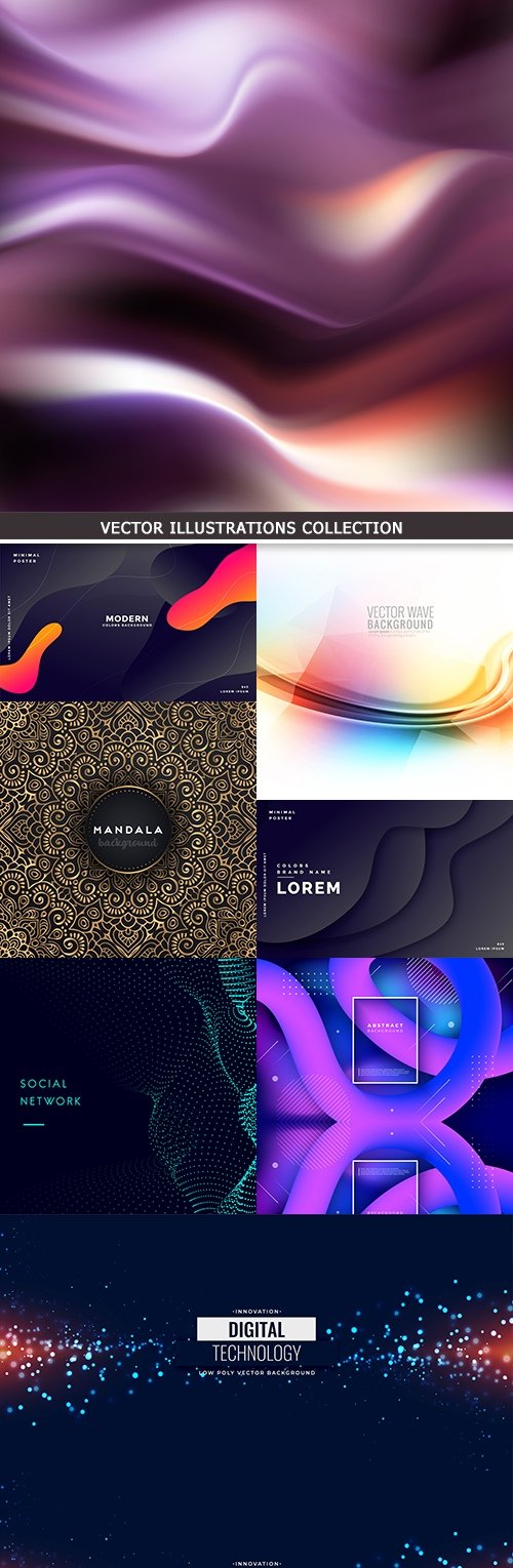 Abstract dynamic motion gradient background creative