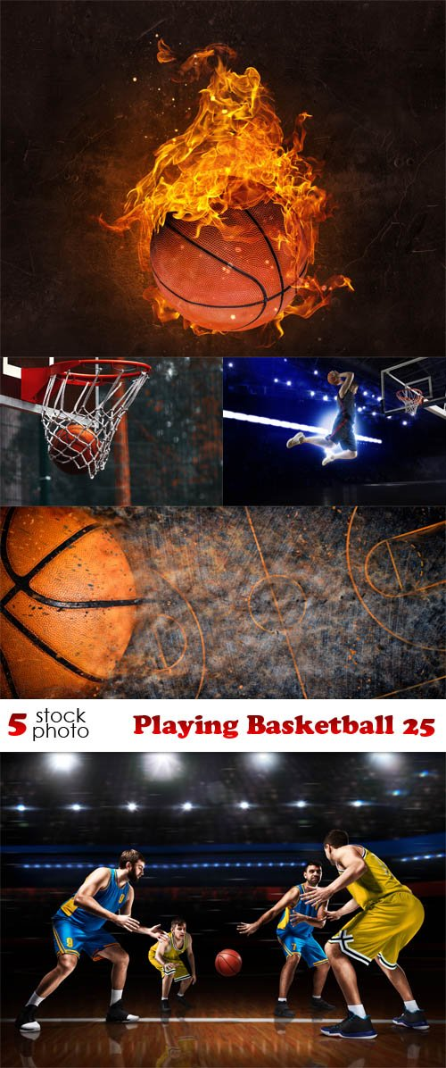 Photos - Playing Basketball 25