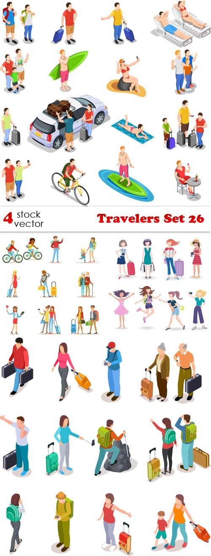 Vectors - Travelers Set 26