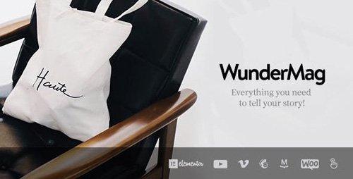 ThemeForest - WunderMag v2.6.1 - A WordPress Blog / Magazine Theme - 20337534