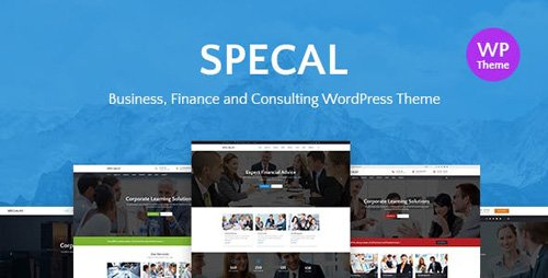 ThemeForest - Specal v1.4 - Financial, Consulting WordPress Theme - 20396082