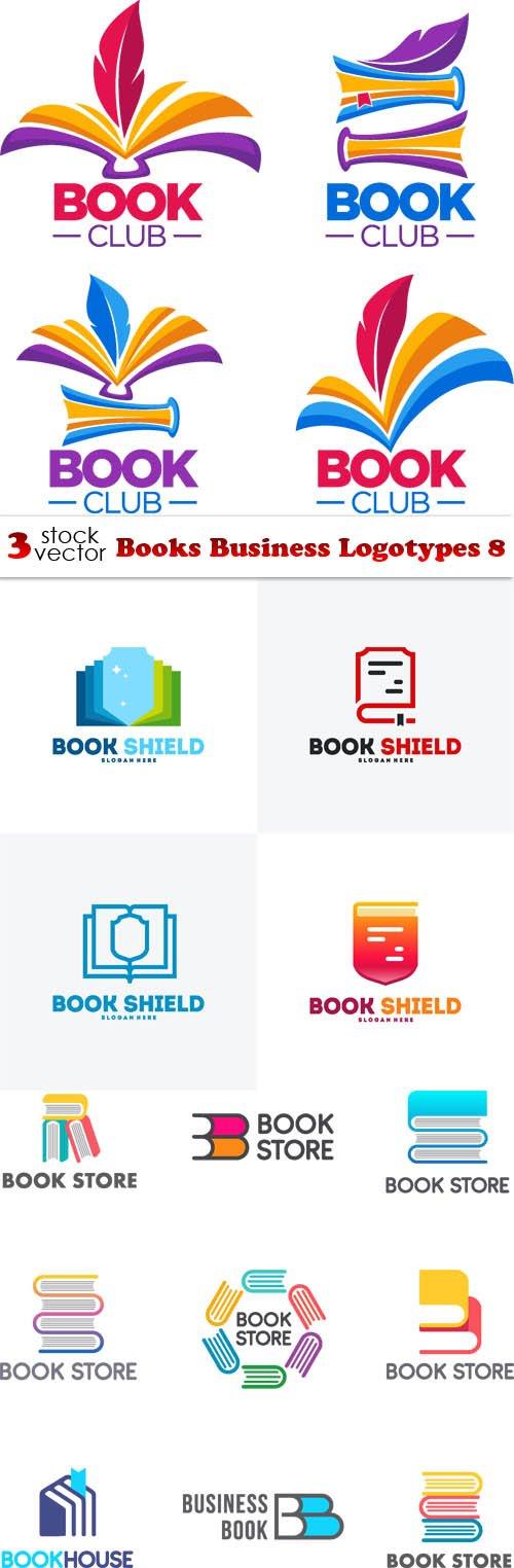 Vectors - Books Business Logotypes 8