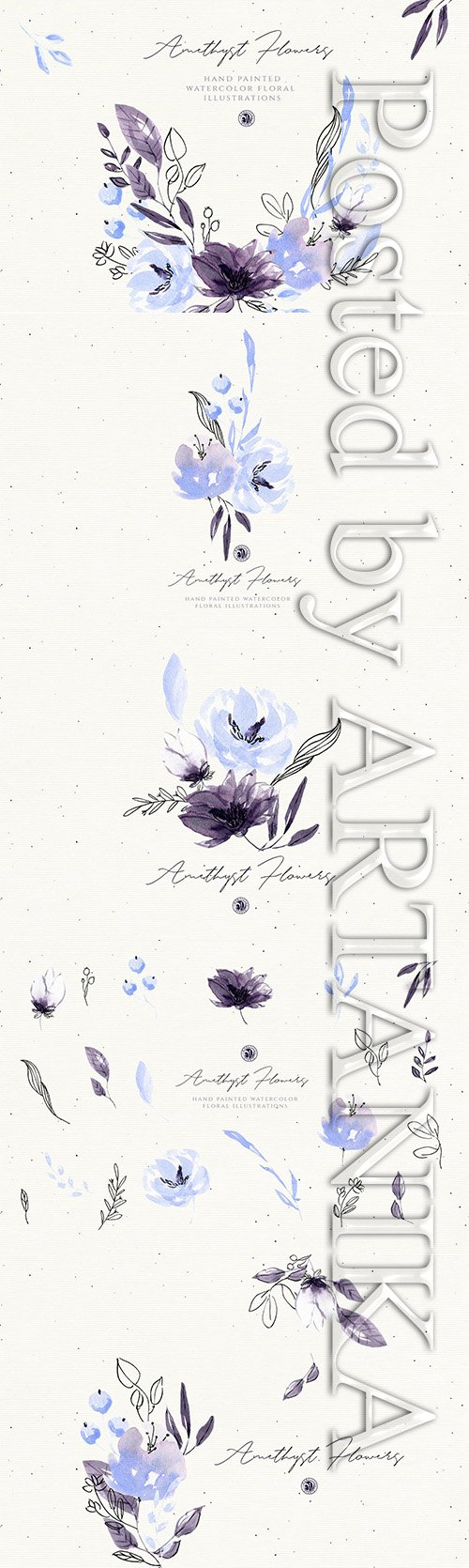 Amethyst Flowers