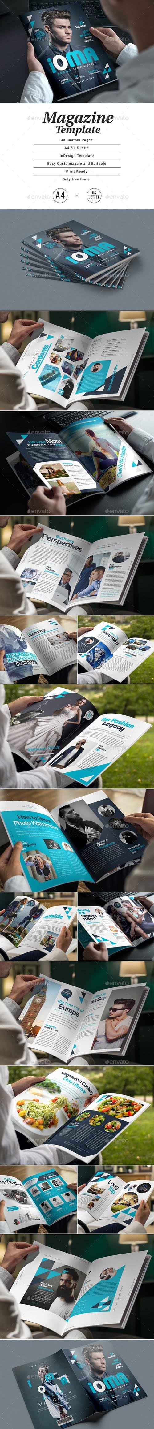 Magazine Template 23245199