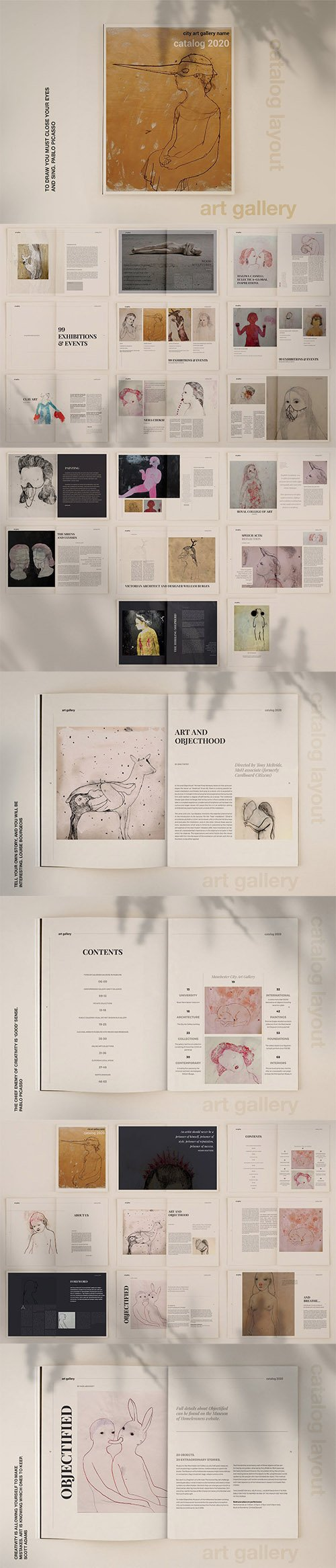 Art Gallery Catalog 3486246