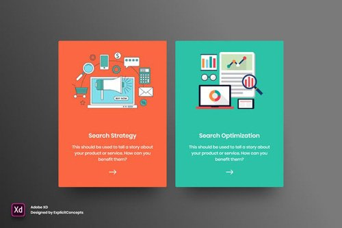 SEO Services - Adobe XD