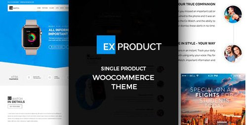 ThemeForest - ExProduct v1.3.4 - Single Product theme - 19602564
