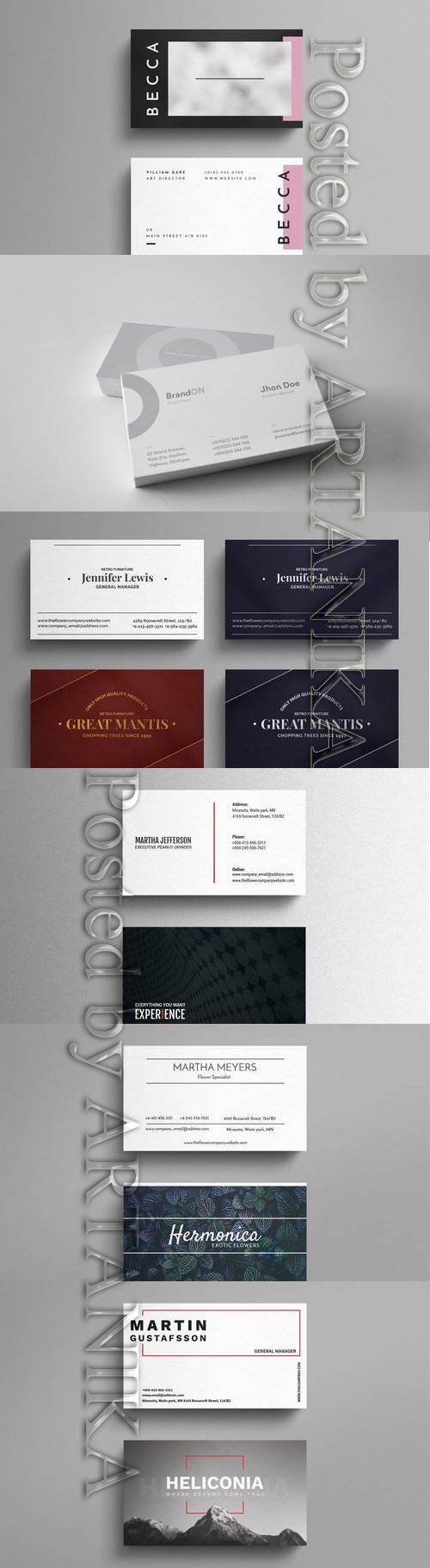 Luxury Business Cards Templates