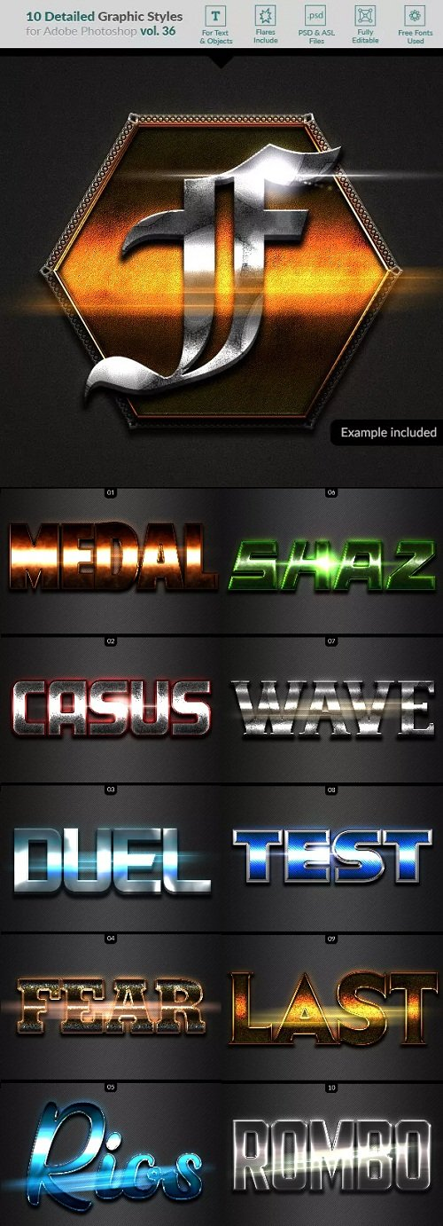 10 Text Effects Vol36 - 23263710