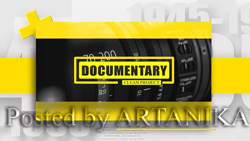 4K Clean Documentary - Intro Opener 183746