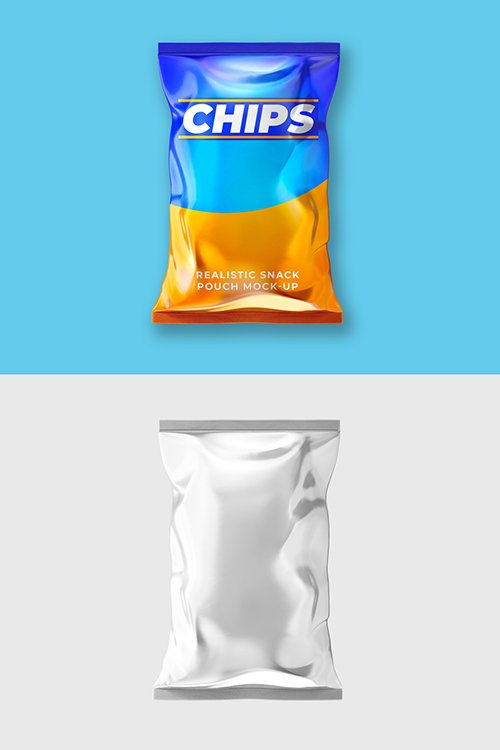 PSDT Chip Bag Mockup 250318039